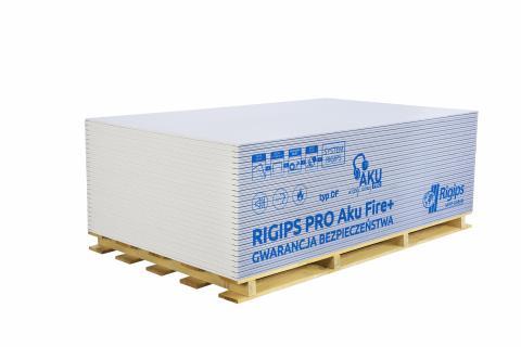 RIGIPS PRO AKU TYP DF (GKF) 1200x12,5_RIGIPS_PRO_Aku_Fire.jpg