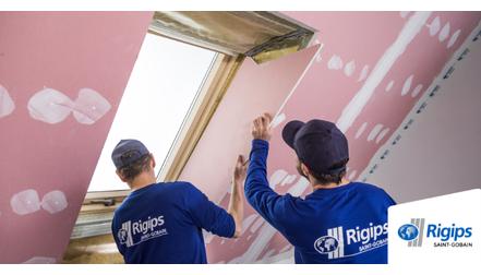 Rigips - Jak obsadzić okno połaciowe zabudowa poddasza