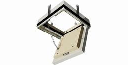 Klapa rewizyjna p.poż EI30 głębokość 70 mm_Klapa rewizyjna EI30 200x200 otwarta2.jpg